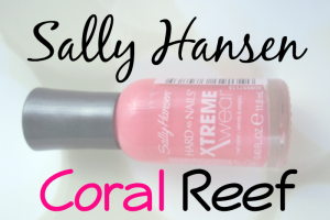 Sally Hansen Coral Reef Featured Image Bottle