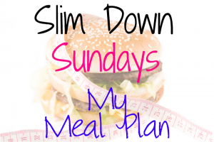 Slim Down Sundays My Meal Plan on southeastbymidwest.com #slimdownsundays #health