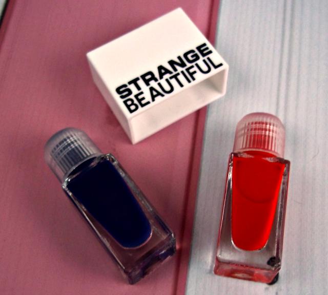 Glossybox June 2014 Strange Beautiful Nail Polish Cap on southeastbymidwest.com #glossybox #beautyblogger #bblogger #beauty #subscriptionbox #strangebeautiful