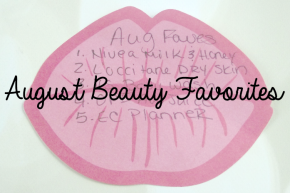 August 2014 Favorites