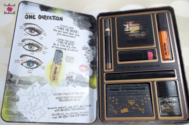 Makeup by One Direction Makeup Tutorial Inside of Tin on southeastbymidwest.com #beauty #bblogger #makeup #onedirection #makeupby1D #thelookscollection #markwins