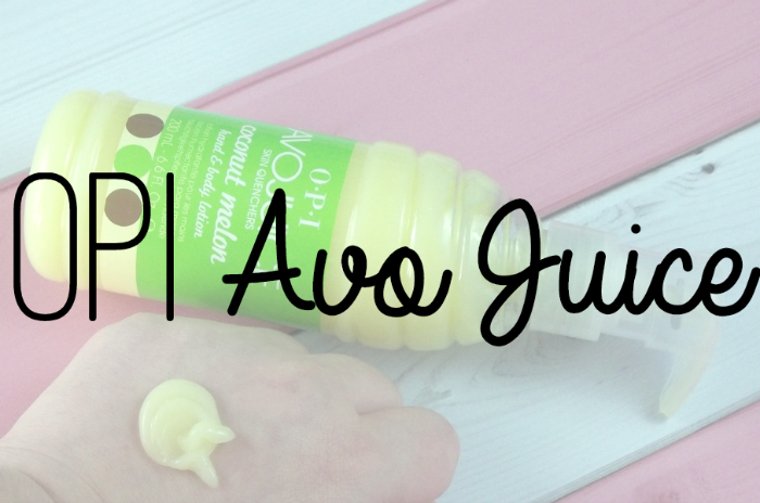 OPI AvoJuice in Coconut Melon Featured Image on southeastbymidwest.com #beautycarechoices #opi #avojuice #bblogger #beautyblogger