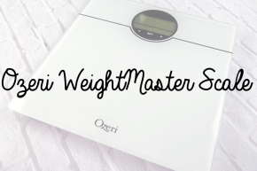 Slim Down Sundays: Ozeri WeightMaster Scale