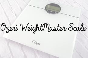 Slim Down Sundays: Ozeri WeightMaster Scale