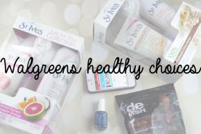 Walgreens healthy choices