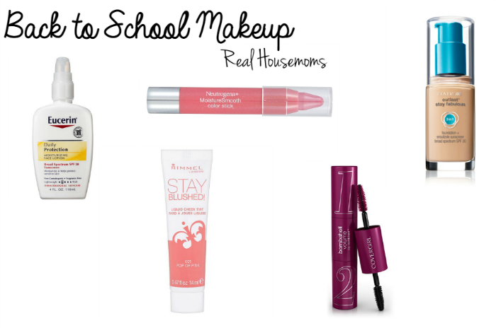 Back to School Makeup from Real Housemoms Featured Image #makeuptutorial #tutorial #backtoschool #makeup #Rhlifestyle