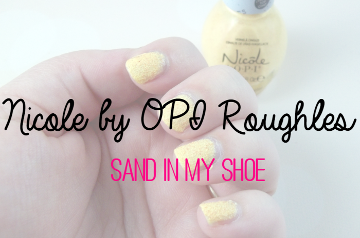 Nicole by OPI Roughles Sand in My Shoe