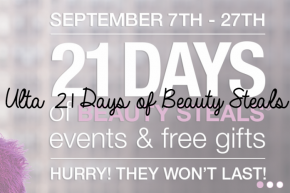 Ulta 21 Days of Beauty Steals