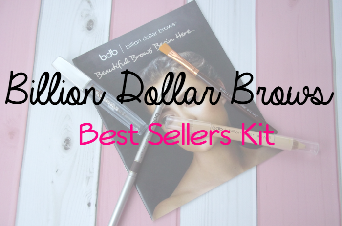 Billion Dollar Brows Best Sellers Kit Featured Image on southeastbymidwest.com #billiondollarbrows #beauty #bblogger #brows