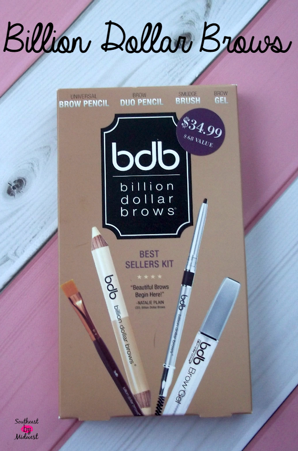 Billion Dollar Brows Best Sellers Kit on southeastbymidwest.com #billiondollarbrows #beauty #bblogger #brows
