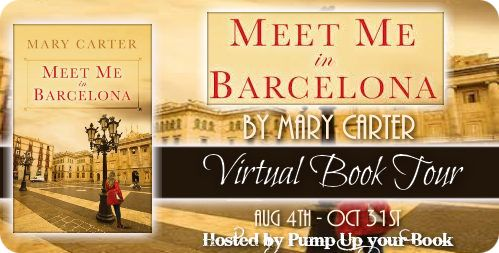 Meet Me in Barcelona by Mary Carter Blog Tour on southeastbymidwest.com #books #bookreviews #bookclub #literary
