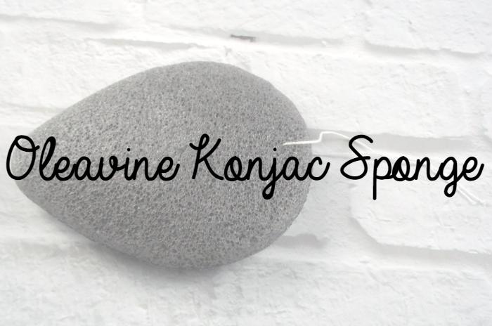 Oleavine Konjac Sponge Featured Image