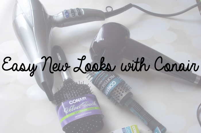 Easy New Looks with Conair on southeastbymidwest.com #HeartMyHair #CollectiveBias #ad #cbias