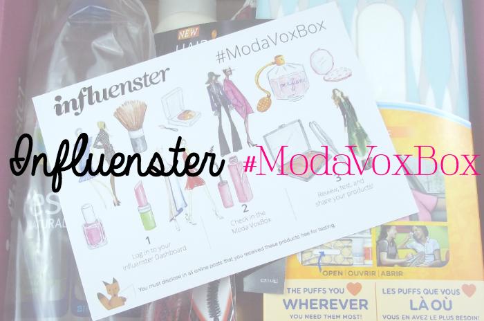 Influenster Moda VoxBox