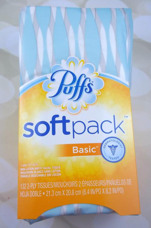 Influenster Moda VoxBox Puffs SoftPack Tissue on southeastbymidwest.com #modavoxbox #influenster #PassthePuffs