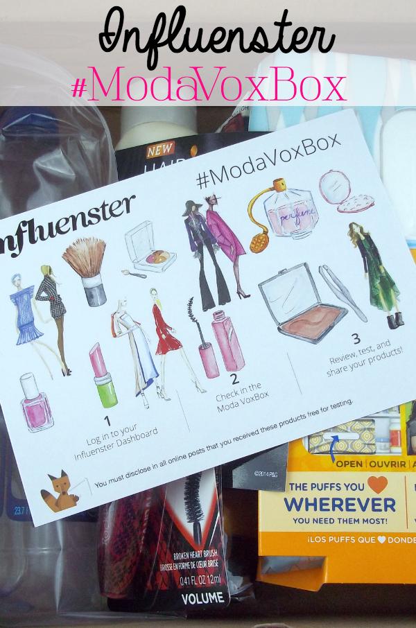 Influenster Moda VoxBox on southeastbymidwest.com #modavoxbox #influenster #PassthePuffs #refreshwithresource #HairFood #1WeekToGorgeous #SwissMissSimplyCocoa #MoistureRenew #RockinIt #Rimmel