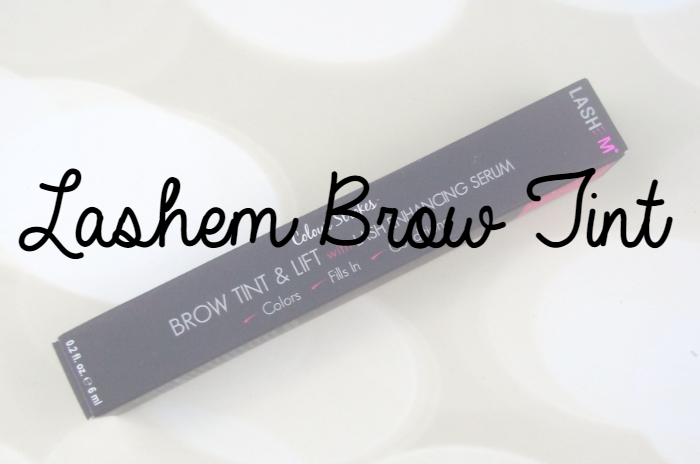Lashem Brow Tint Featured Image on southeastbymidwest.com #lashem
