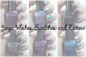 Zoya Wishes Swatches and Review