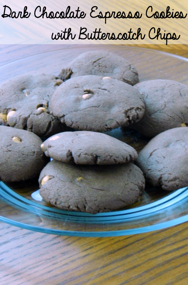 Cookie Swap Dark Chocolate Cookies with Butterscotch Chips on southeastbymidwest.com #cookies #cookieswap #recipe