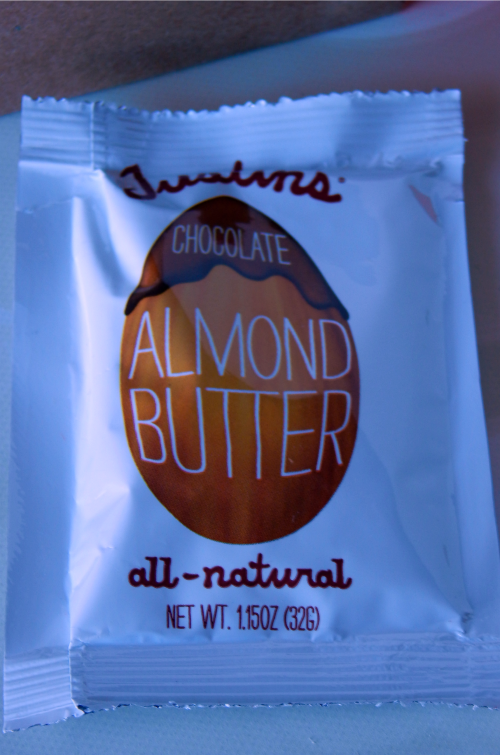 One item I received in my November Birchbox was a packet of Justin's Almond Butter.