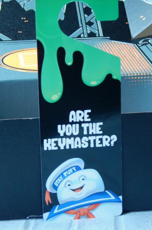 One item in the December Loot Crate was a Ghostbusters Door Hanger