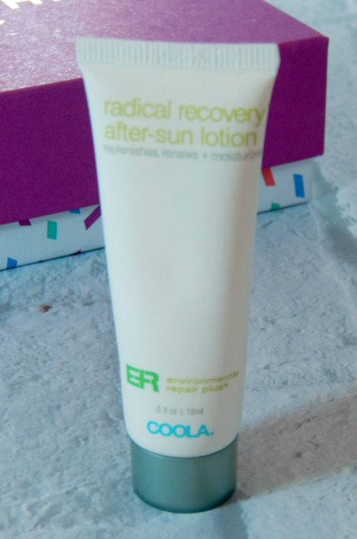 One item in the Tone It Up January Birchbox was Coola After Sun Lotion