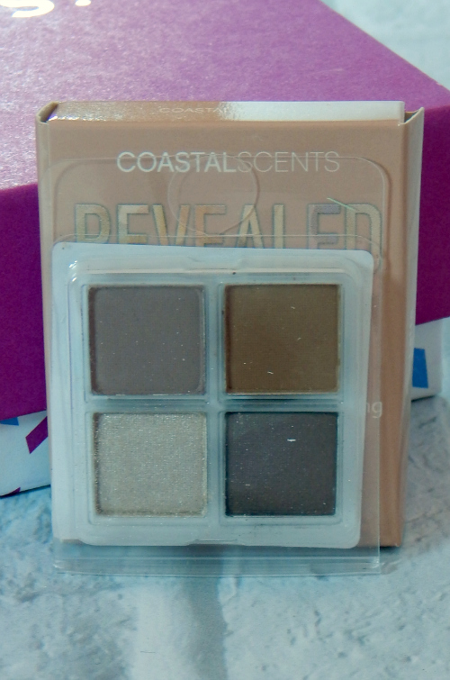 One of the items in the Tone It Up January Birchbox was a sampler of Coastal Scents Revealed Palette