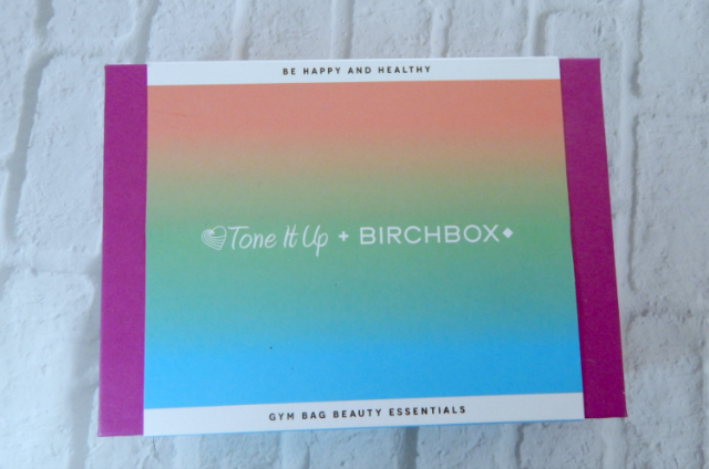 The January Birchbox was a collaboration between Birchbox and Tone It Up