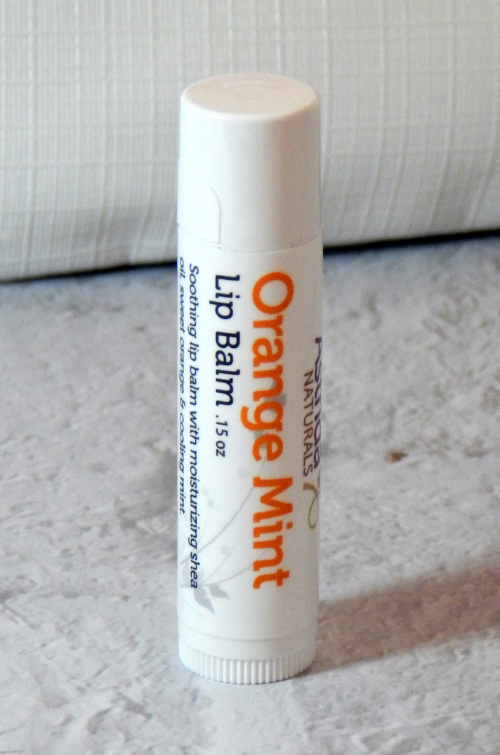 One item in the January Ipsy bag was an Astrida Lip Balm in Orange Mint