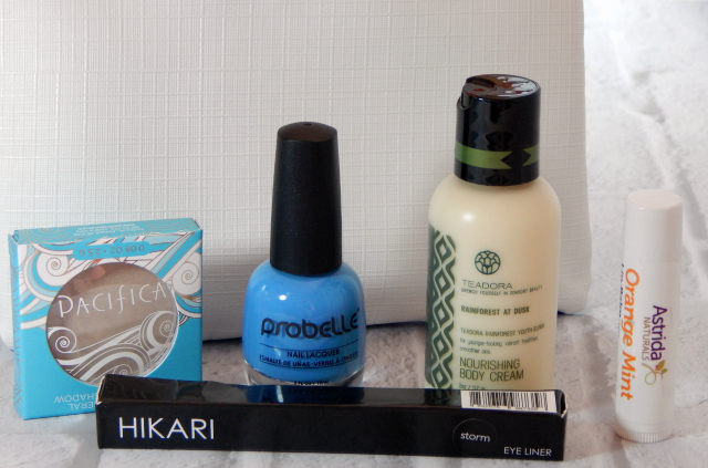 The January Ipsy Bag Contents