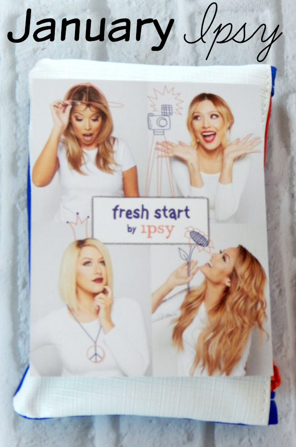 It's time for the January Ipsy Unboxing. The Fresh Start January Ipsy Bag contained items from Teadora, Pacifica, Astrida, Hikari and Probelle