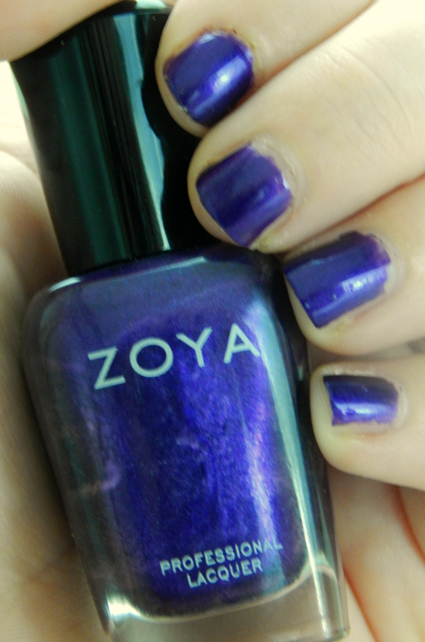Zoya Belinda nail polish is a great purple nail polish