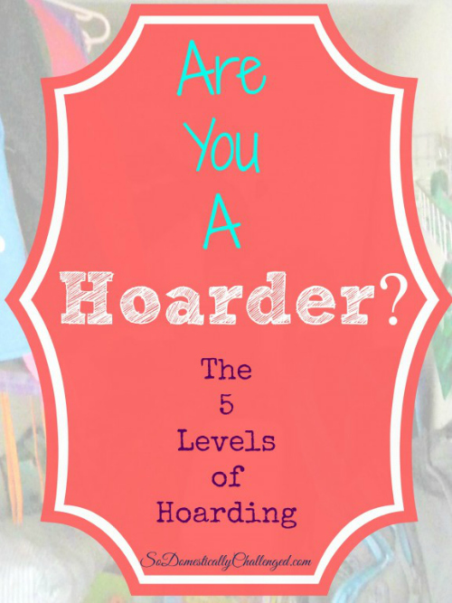 Are You a Hoarder from Best of the Blogosphere Week 4