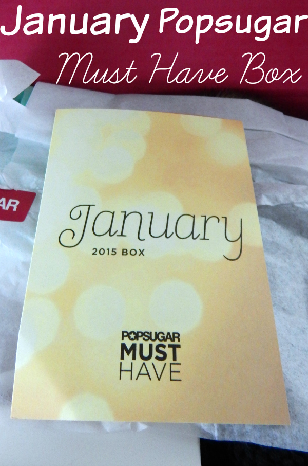 Popsugar Must Have Resort Box Review: January Popsugar Must Have Box