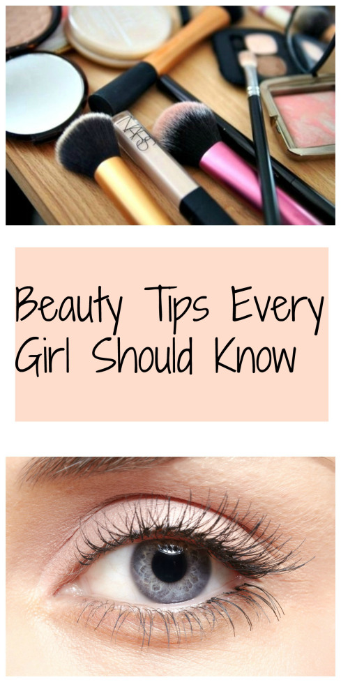 Beauty Tips Every Girl Should Know from Best of the Blogosphere Link Party Week 4