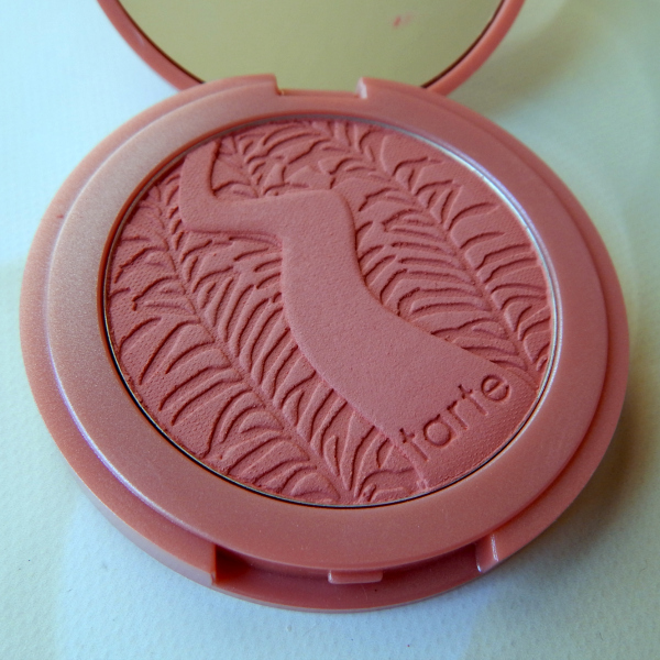 One of my favorite blushes is Tarte's Pampered