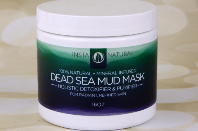 InstaNatural Dead Sea Mud Mask Bottle