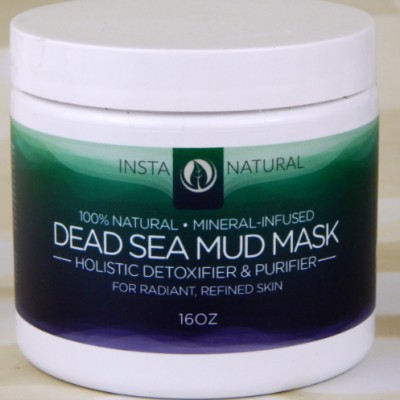InstaNatural Dead Sea Mud Mask Featured Image