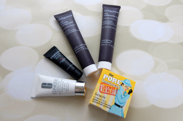 Sephora Haul Deluxe Samples from Living Proof, Smashbox, Clinique and Benefit