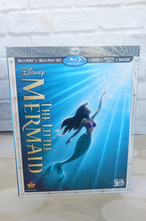 Thinking of You Gift Basket Little Mermaid Blu-Ray