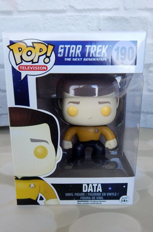 Thinking of You Gift Basket Star Trek Data Pop Vinyl