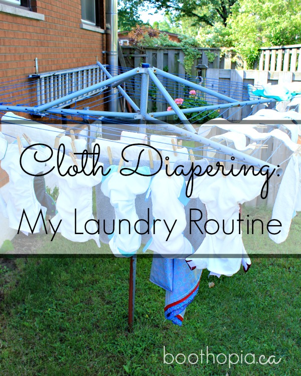 How I Wash Cloth Diapers from Best of the Blogosphere Link Party
