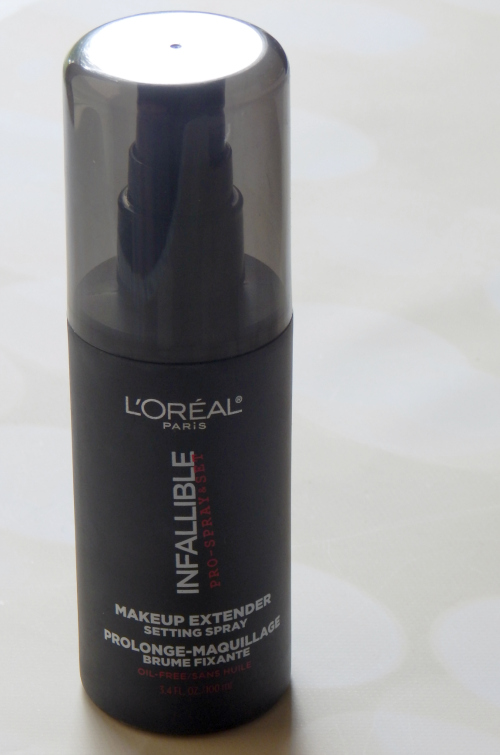 L'Oreal Infallible Setting Spray Standing Up