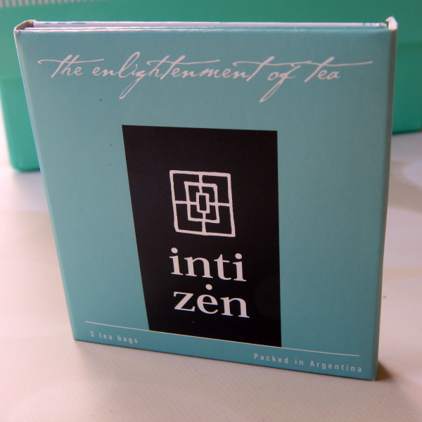 One item in the Try the World Argentina Box was a 3 pack of Chamana and Inti Zen Argentine Teas #trytheworld #food #subscriptionbox #foodsubscription #foodie