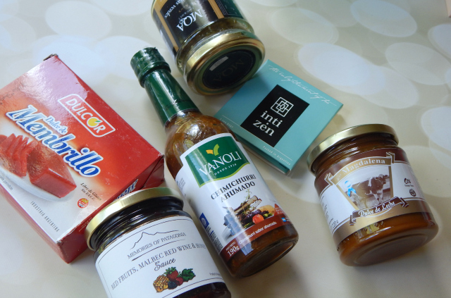 All of the items in the Try the World Argentina Box #trytheworld #food #subscriptionbox #foodsubscription #foodie