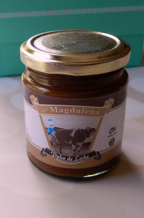 One of the items in the Try the World Argentina was a jar of Doña Magdalena Dulce de Leche #trytheworld #food #subscriptionbox #foodsubscription #foodie