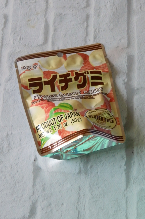 Try the World Japan Kasugai Gummy Candies #trytheworld #japan #foodie #culinary #subscriptionbox