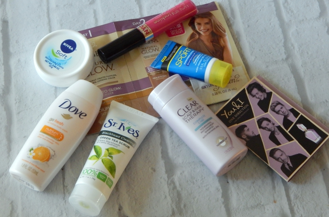 Summer 2015 Walmart Beauty Box Contents
