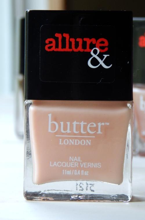 Allure & butterLONDON Arm Candy Collection Nude Stilettos #butterLONDON #allure #nails #nailpolish #beauty #beautyblogger #nudestilettos