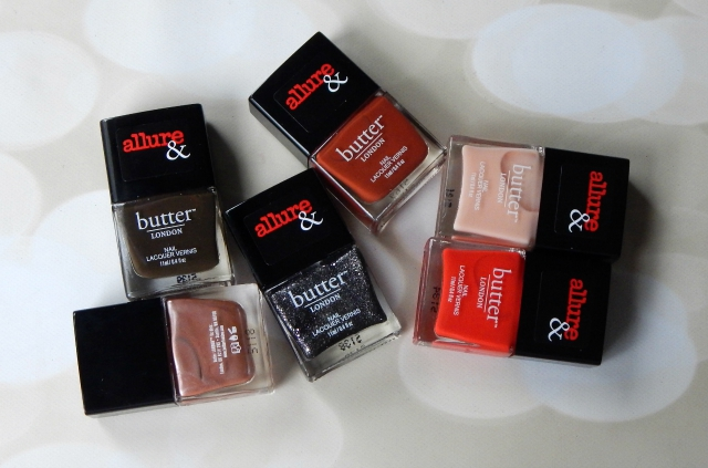 Allure & butterLONDON Arm Candy Collection Giveaway #butterLONDON #allure #nails #nailpolish #beauty #beautyblogger #giveaway